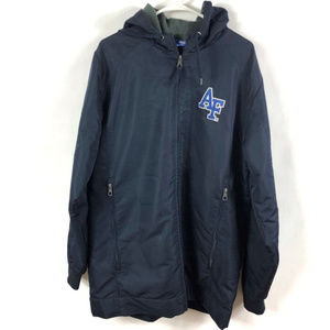 Air Force Falcons Zip Up Hooded Jacket Size L